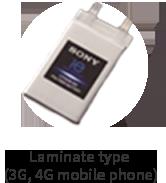Laminate type (3G, 4G mobile phone)