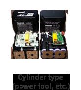 Cylinder type (power tool, etc.)