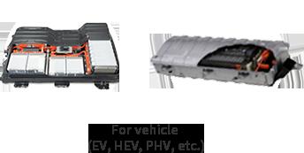 For vehicle (EV, HEV, PHV, etc.)