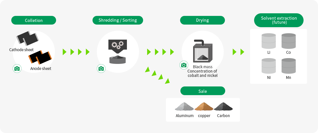 Electrode Recycling Process